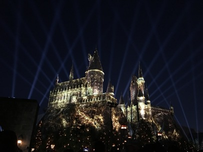 Universal Studios Harry Potter Light Show