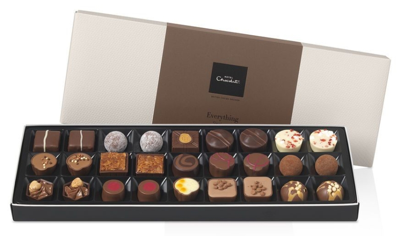 Everything Sleekster Chocolate Gift Box